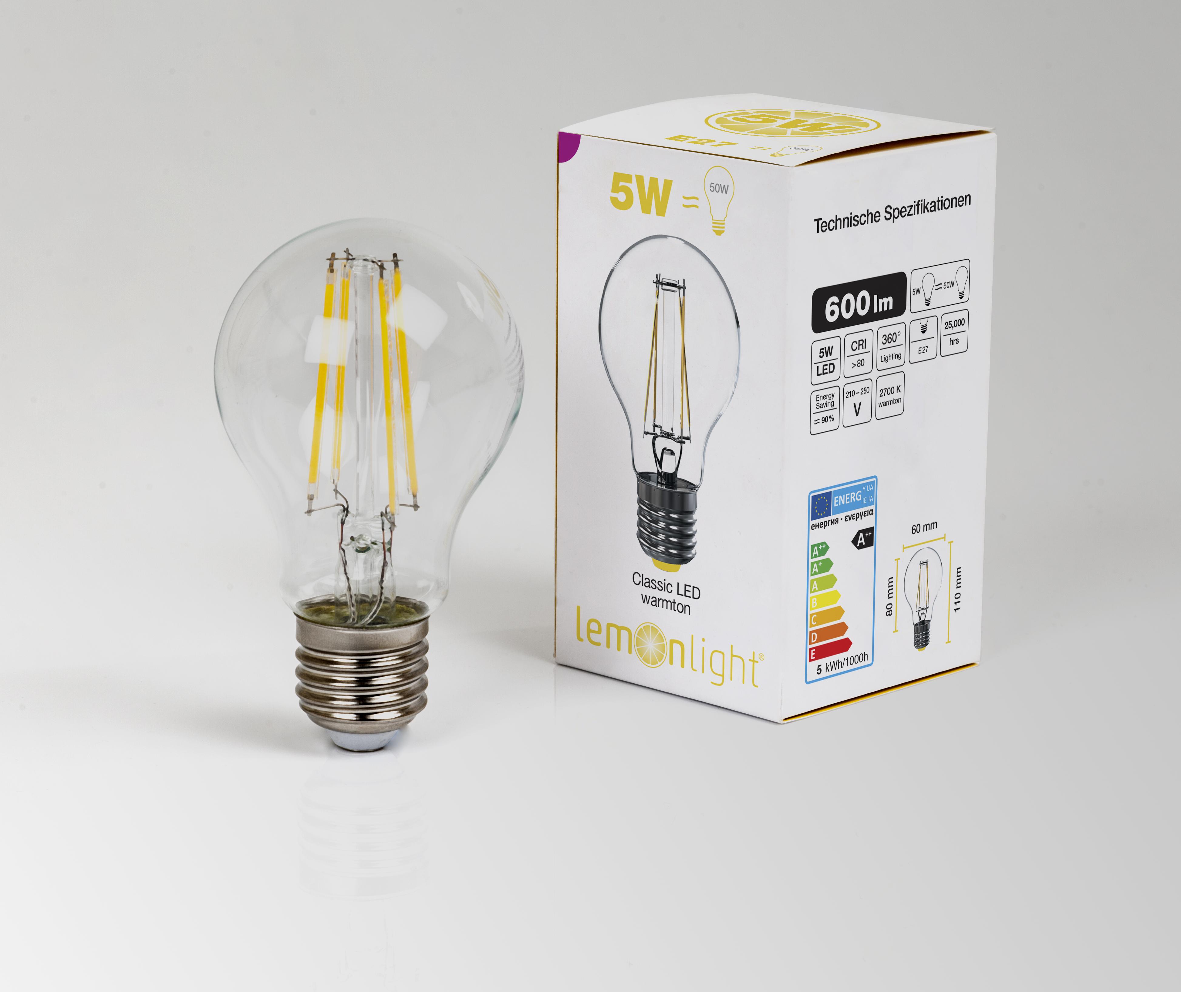 LED Birne C60 | 4W